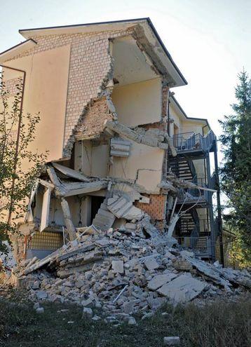Un'abitazione di Ussita (foto Calavita)