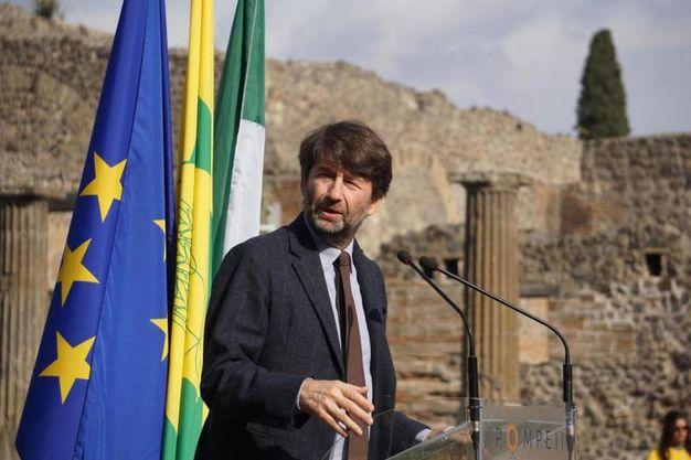 Il ministro Franceschini (ansa)