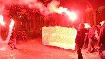 Bologna, Cua in corteo contro il caro-mensa (Schicchi)