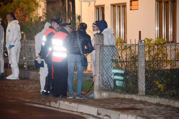Porto Viro, le indagini per omicidio (foto Donzelli)