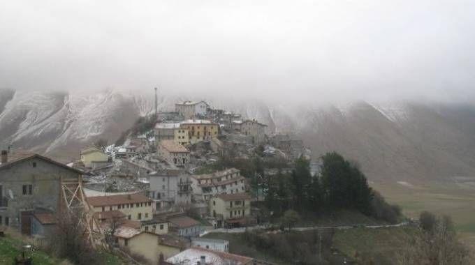 Castelluccio di Norcia nelle nuove immagini della webcam di Umbriameteo