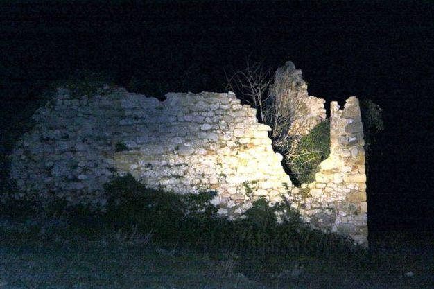 Il luogo del ritrovamento delle ossa umane (Foto Labolognese)