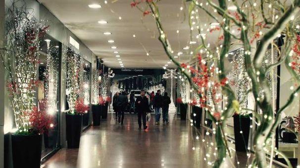 Bologna Festa Con Effetti Speciali In Galleria Cavour