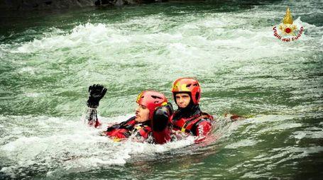Esami per diventare soccorritore fluviale dei vigili del fuoco
