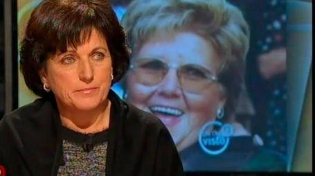 Marina Palma a «Chi l'ha visto?» la scorsa estate quanto venne rivelato l'identikit dell'assassino