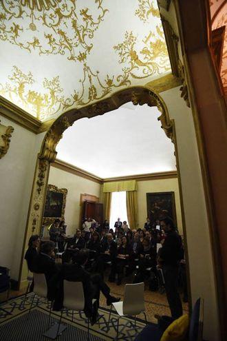 Dalì Experience, la presentazione alla stampa a Palazzo Belloni (foto Schicchi)