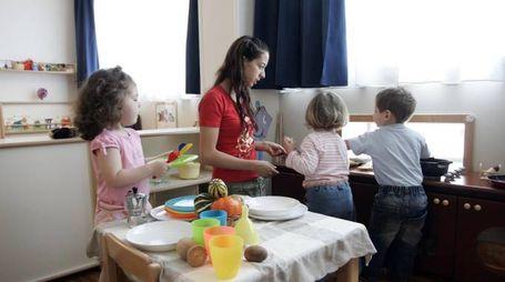 Bambini in un asilo nido (foto di repertorio)