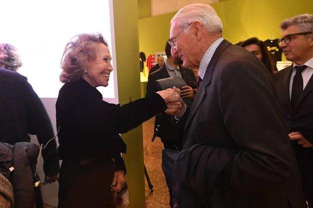 Marisa Monti Riffeser con Filippo Sassoli de' Bianchi (foto Schicchi)