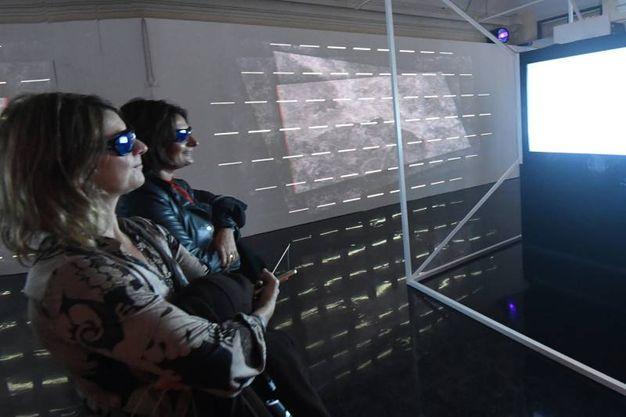 Dalì Experience, visitatori all'anteprima della mostra (Foto Schicchi)