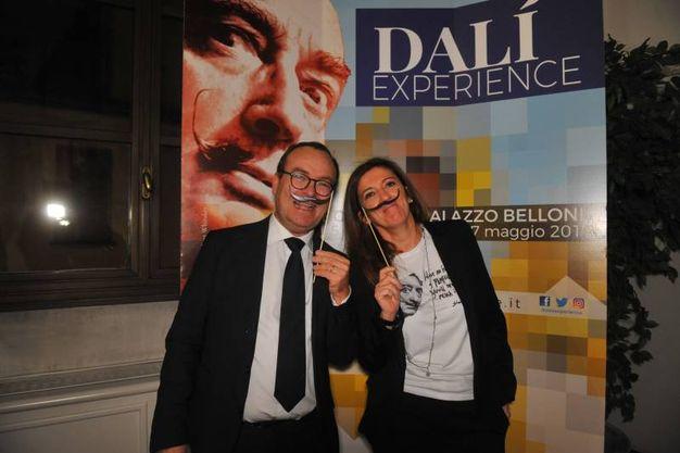 Nicola Natali con la moglie (foto Schicchi)