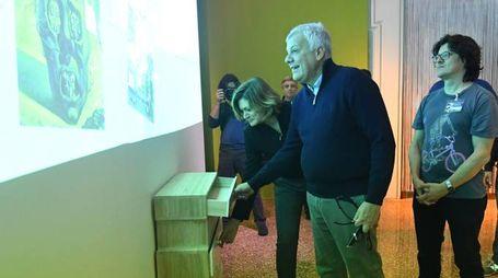 Il ministro Galletti in visita alla Dalì Experience (Fotoschicchi)