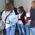Studenti al Campus scolastico di Sondrio (Archivio National Press)