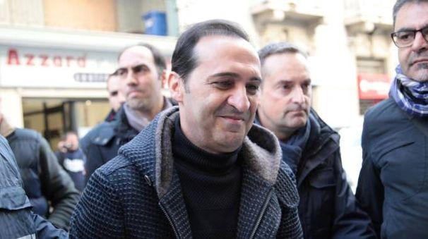 Marcello Pesce in arresto (Ansa)