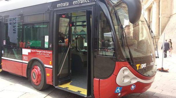 Un autobus a Bologna