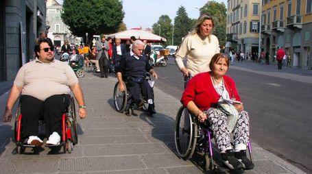 Troppo spesso i disabili sono ancora discriminati, specie per le barriere architettoniche