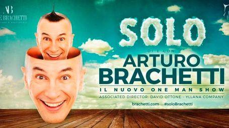 """""""Solo"""" il nuovo tour di Brachetti l'8 dicembre arriva a Grosseto"""