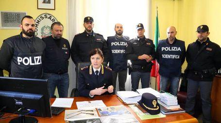 La conferenza stampa del vicequestore aggiunto Ferasin