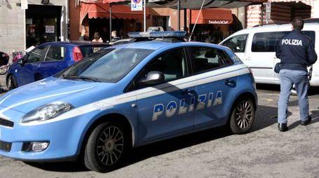 Sul posto la polizia (foto archivio Businesspress)
