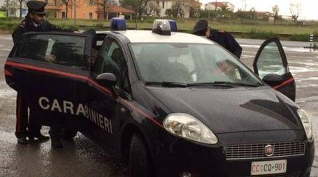 I carabinieri (foto archivio Franceschetti)