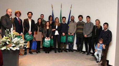I laureati che hanno ottenuto il premio