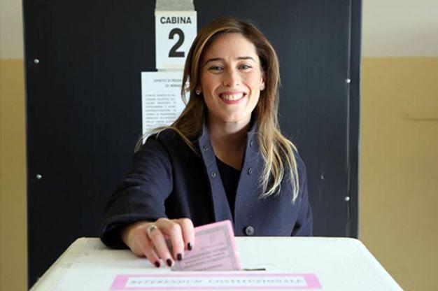 Maria Elena Boschi (Ansa)
