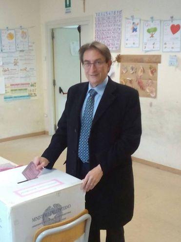 Il sindaco de L'Aquila Massimo Cialente (Ansa)