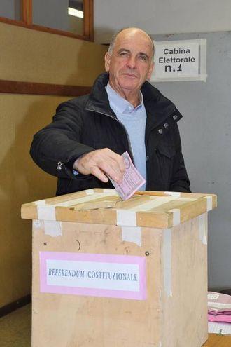 Il presidente della Regione Valle d'Aosta, Augusto Rollandin (Ansa)