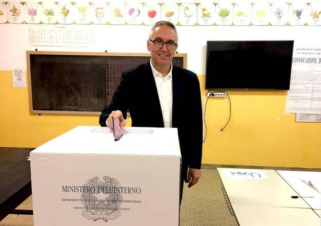 Il presidente della Regione Marche Luca Ceriscioli (Ansa)