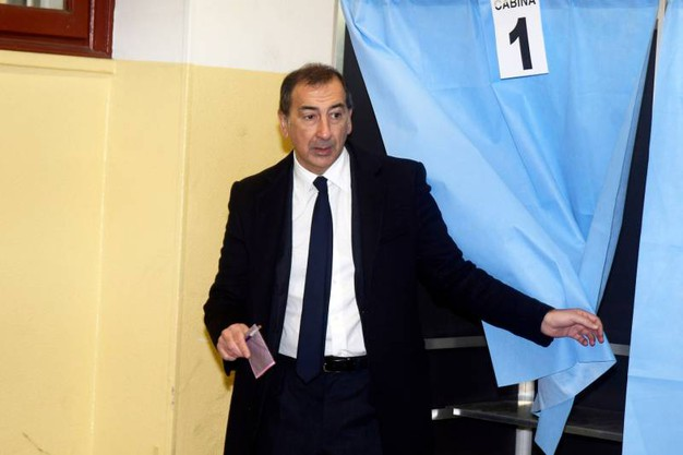 Il sindaco di Milano Sala (Newpress)
