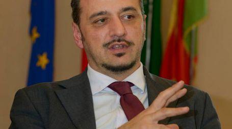 Il presidente della Provincia Mauro Soldati (Cavalleri)