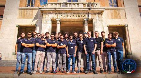 Il gruppo degli studenti dell'Università di Pisa