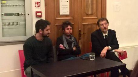 Da sinistra, Giovannacci, Medaglia e Draghetti