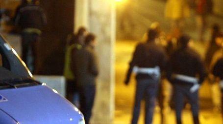POLIZIA Intervennero gli agenti