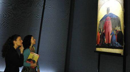 """La pala della """"Madonna della Misericordia di Piero della Francesca proviene  dalla cittadina in provincia  di Arezzo"""