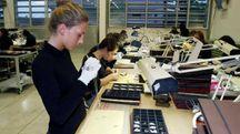 Un laboratorio di oreficeria (foto d'archivio)