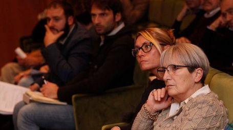 L'assemblea dei sindaci (foto Lazzeroni)