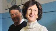 Matteo Renzi e la moglie Agnese