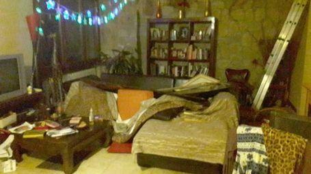 LA RABBIA L'abitazione sulla colline di Coriano saccheggiata dai ladri «Hanno bivaccato  per ore»