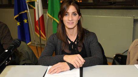 L'assessore al Bilancio Maria Grazia Buscaino