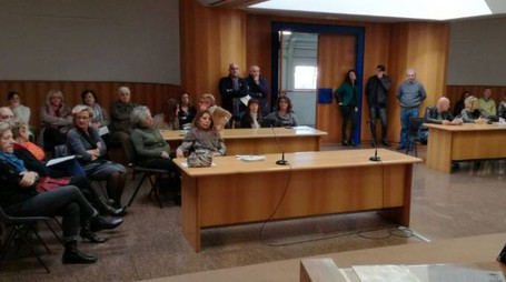 L'assemblea ieri a palazzo di Giustizia