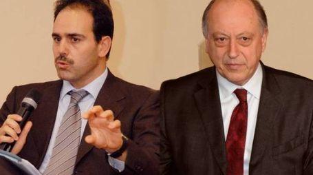 Il senatore Marcucci e il sindaco Tambellini