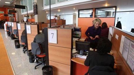Gli uffici della Camera  di commercio di Monza in piazza Cambiaghi