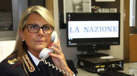 Il vice questore Stefania Pierazzi in un forum a La Nazione