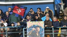 Tifosi all'Arena Garibaldi