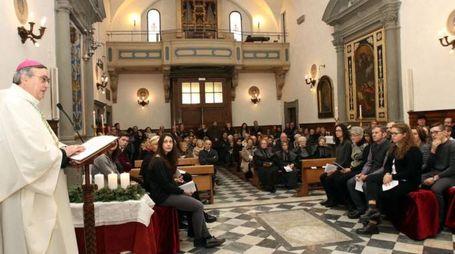 Festa alla Misericordia con il vescovo Agostinelli
