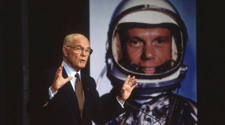 Morto John Glenn, primo astronauta Usa ad andare in orbita (Olycom)