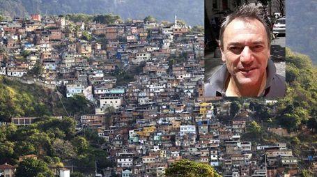 L'italiano ucciso in una favela a Rio, Roberto Bardella,