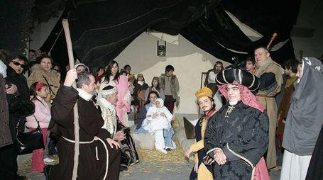 Anche quest'anno la manifestazione clou del Natale sarà il Presepe vivente  che si rifà a quello di Greccio