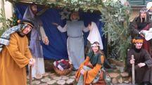 Natale, una rappresentazione della Natività a Portico (Foto Cappelli)