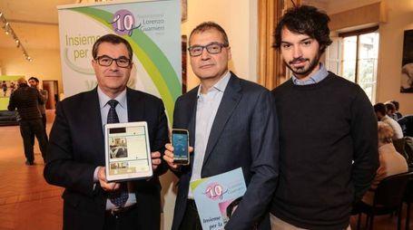 Townhelp, la presentazione con Guarnieri, Giorgetti e il giovane progettista Vito La Melia